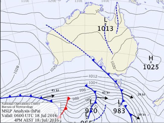 Weather map explainer What are cold fronts synoptic charts isobars