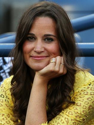 Pippa Middleton met her husband-to-be in 2012. Picture: Getty Images
