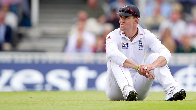 INJURED: Kevin Pietersen is struggling with a knee injury.