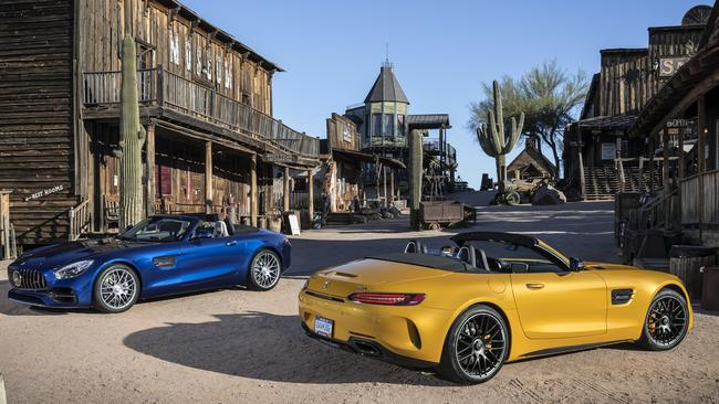 Far from middling: The regular Roadster produces 350kW — and the GT C puts out 410kW.