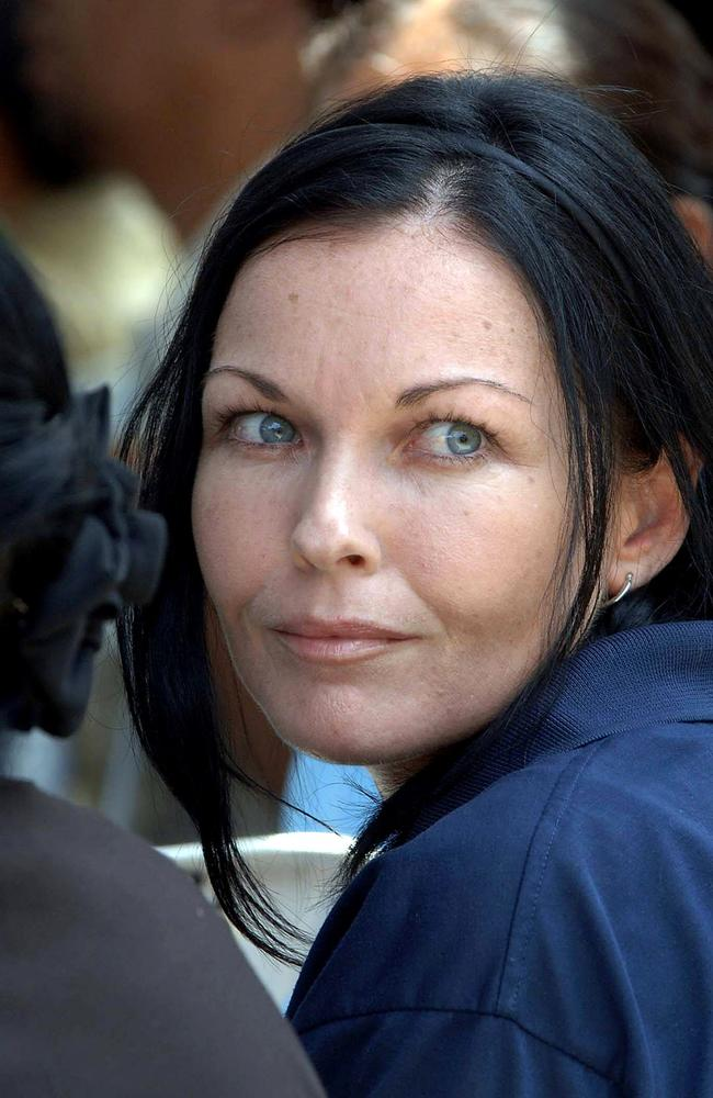 Schapelle Corby looks on during a ceremony inside Kerobokan prison in Denpasar, in 2008. Picture: AFP