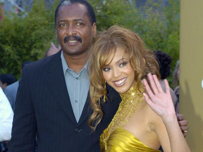 Fatherly love ... Beyonce Knowles with her father Matthew Knowles. Picture: AP