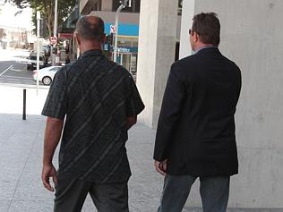 Two of the 18 victims Brian Cairns abused.