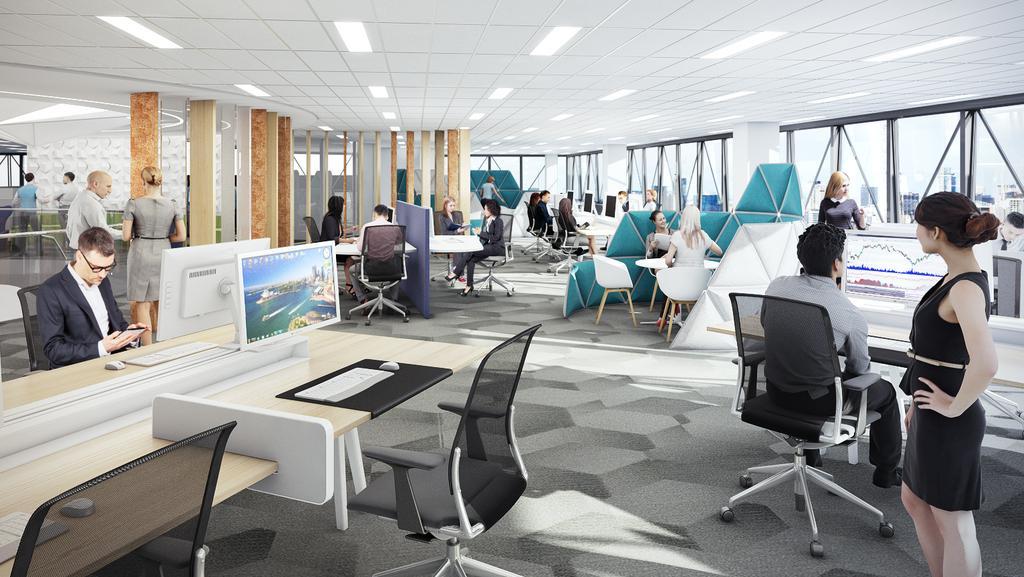 Kpmg S New Parramatta Agile Workplace Runs Rings Around