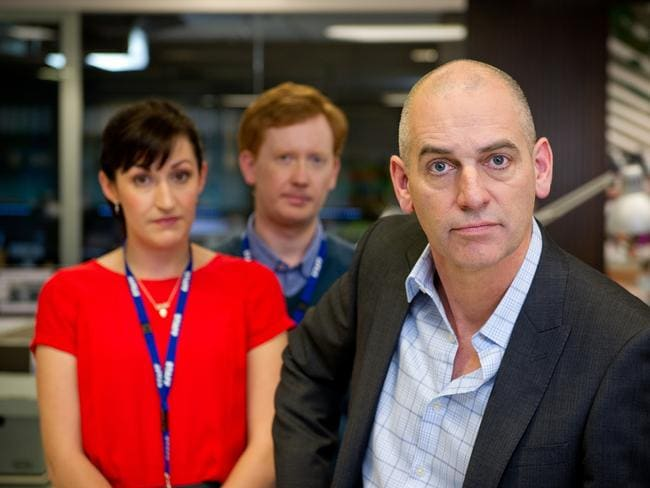Celia Pacquola, Luke Mitchell, Rob Sitch star in Utopia on ABC1.
