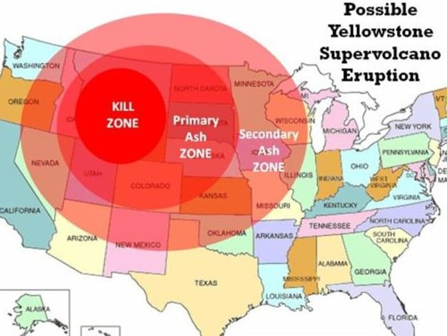 Yellowstone supervolcano: 464 earthquakes in one week