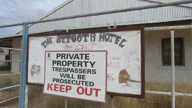 Betoota Hotel closed for business in 1997