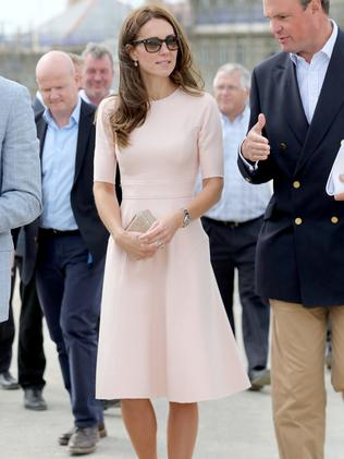 Catherine during a visit to Nansledan in Newquay, United Kingdom. in 2016. Picture: Chris Jackson — WPA Pool/Getty Images