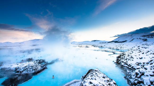 The Blue Lagoon is just 20 minutes from Iceland's international airport.