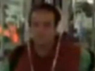 Police want to speak to this man over an incident at Syndal station in Melbourne where a female passenger was choked as she waited for a bus.