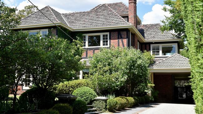 The Hawthorn East home was one of seven ordered to be resold. Picture: Jay Town