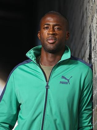 Yaya Toure of the Ivory Coast.