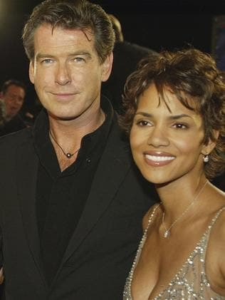 Brosnan and co-star Halle Berry.