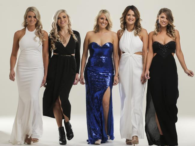 The Queensland Bachelorettes represent. Photo: Supplied
