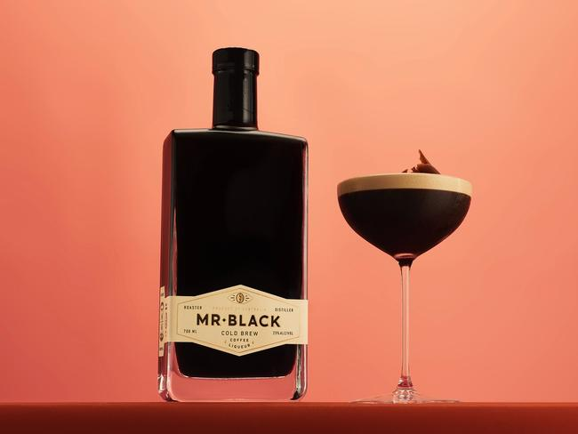 Mr Black coffee liqueur espresso martini. Picture: Guy Davies