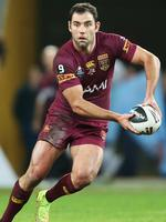 QLD's Cameron Smith during game three of The State Of Origin, Queensland vs New South Wales (QLD NSW) at Suncorp Stadium in Brisbane 2014. Pic: Josh Woning.