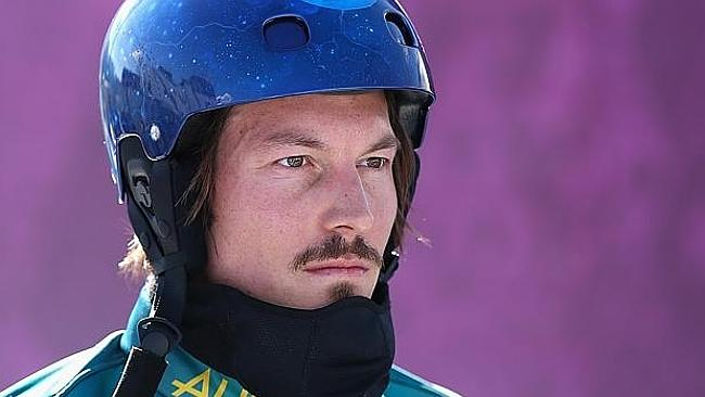 The subject of an angry row within the Australian Winter Olympic team: Alex 'Chumpy' Pullin. Picture: Supplied