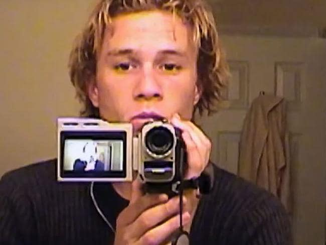 Ledger started documenting his experiences early in his career.