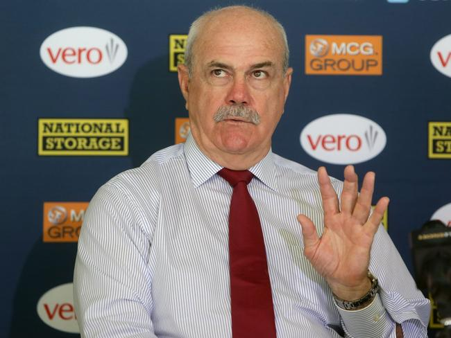 Lions board member Leigh Matthews attracted Swann to the job. Picture: Jono Searle