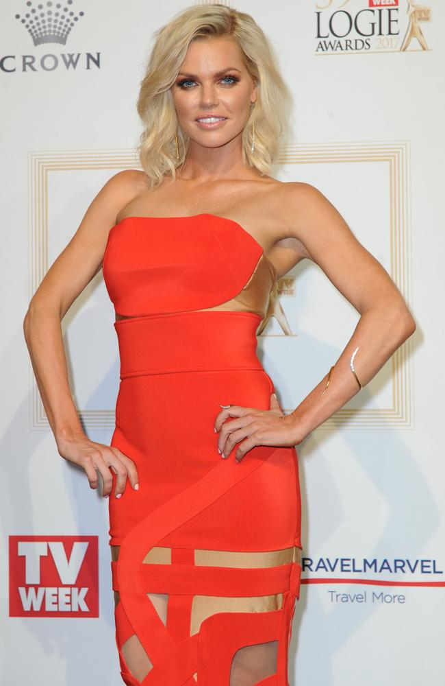 Sophie Monk at the Logie Awards in Melbourne earlier this year