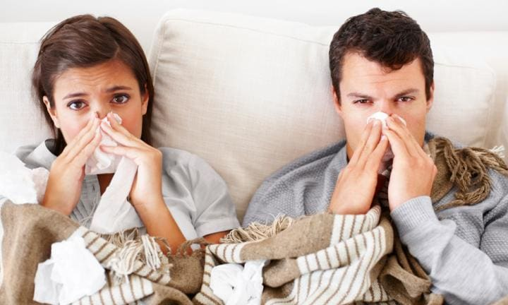 Playing flu family domino? How to stop the germ invasion