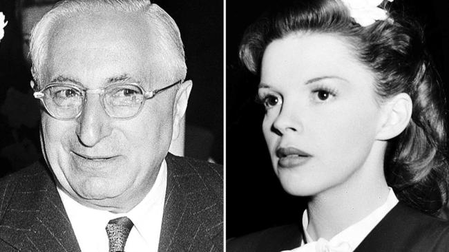 Judy Garland was pawed and propositioned for sex by studio bigwigs at MGM, including Metro Goldwyn-Mayer studio head Louis B. Mayer, between the ages of 16 and 20, according to author Gerald Clark.