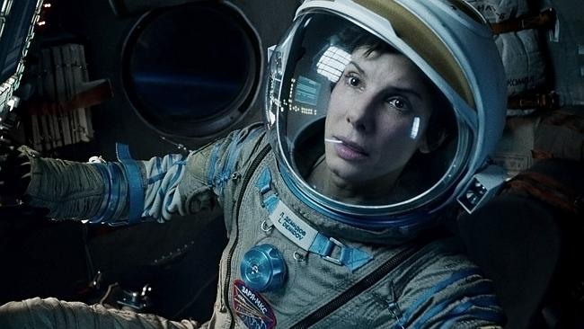 Gravity has been nominated fro 10 Academy Awards. (AP Photo/Warner Bros Pictures, File)
