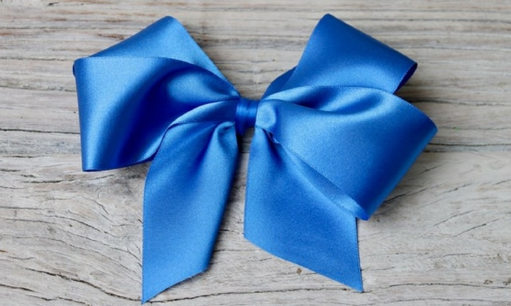 How to make a hair clip bow