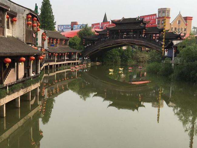 The Hangzhou Songcheng Park is a popular theme park in China. Picture: TripAdvisor