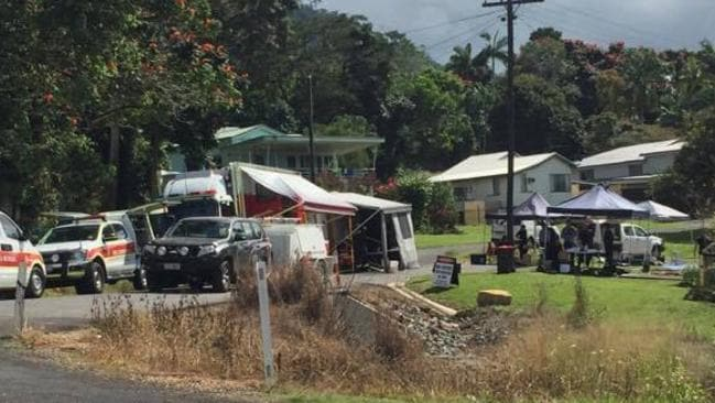 crime scene closed at tully property after chemicals allegedly found under house adelaide now