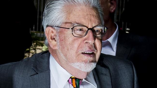 Convicted. Rolf Harris was found guilty of 12 indecent assaults on young girls between 1968 and 1986. Picture: Tristan Fewings/Getty Images