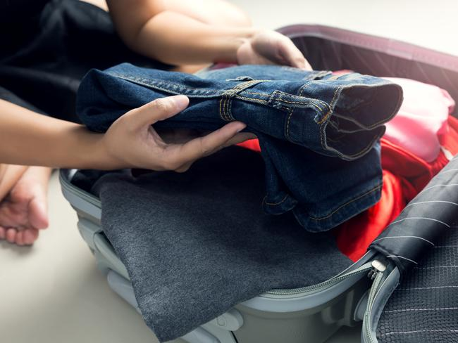 Splurged on some designer jeans? Be sure to pack them when you're heading overseas.