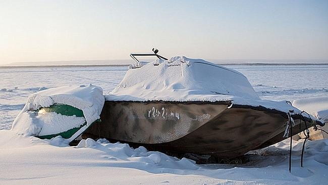 Not going anywhere fast today in Yakutsk ... Picture: Flickr Marteen Takens