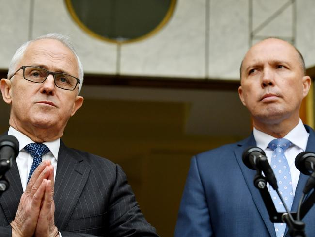 Prime Minister Malcolm Turnbull and Minister for Immigration Peter Dutton.