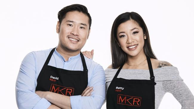 Mkr josh and amy s epic fish fail the courier mail for Y kitchen rules season 8