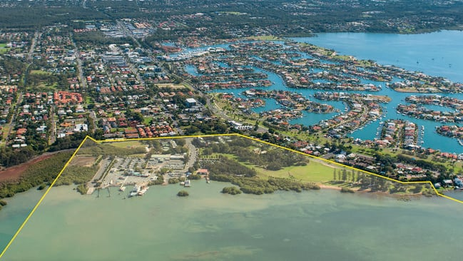 Toondah Harbour Priority Development Area, Cleveland. Picture: Redland City Council.