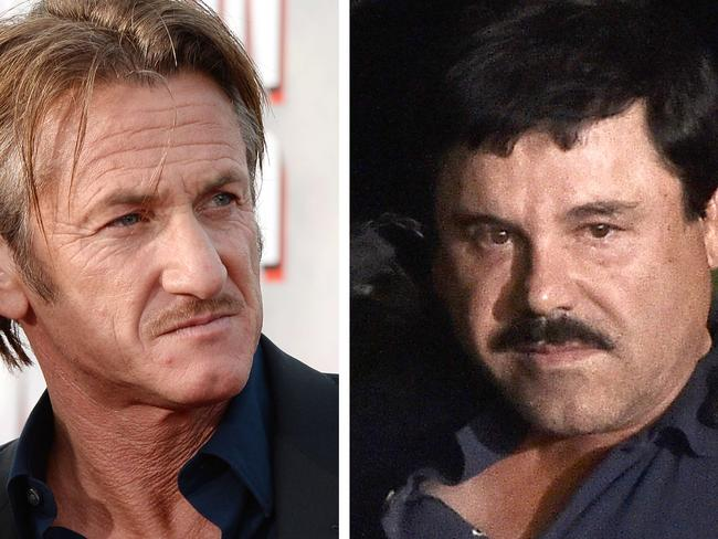 """El Chapo"" meeting ... Authorities question U.S. actor Sean Penn over his interview with the Mexican drug kingpin."