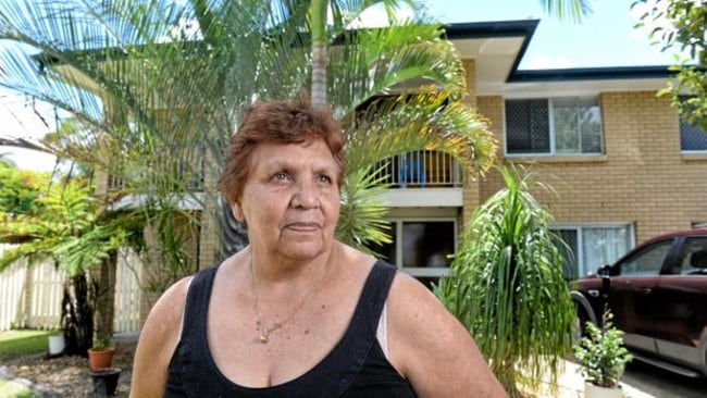 Ripley resident Maria Baker is frustrated with the stench drifting across her neighbourhood. Picture: Rob Williams