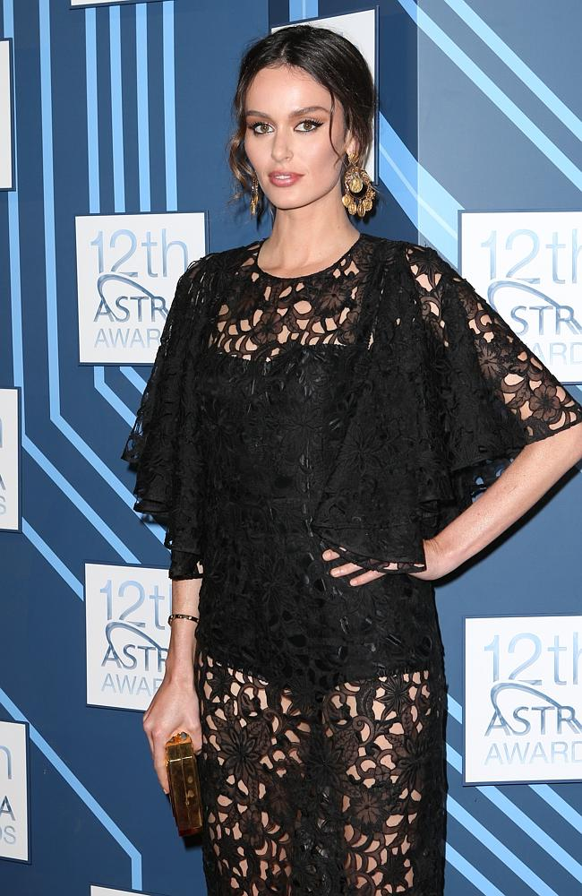 Nicole Trunfio at the 2014 ASTRA Awards at Carriageworks in Sydney. Picture: Getty Images
