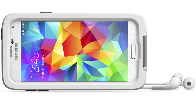 The Lifeproof Fre case for the Samsung Galaxy S5 smartphone. Picture: Supplied