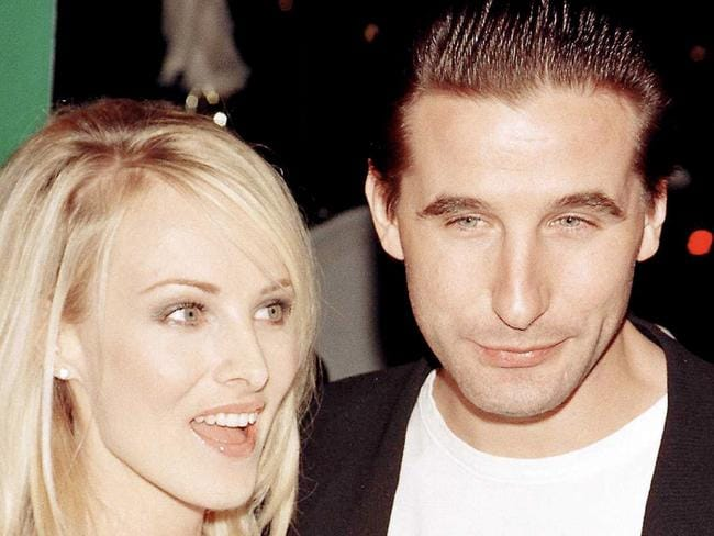 Billy Baldwin and wife Chynna Phillips circa 1995. Picture: Getty Images