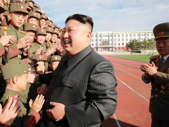Analysts say Kim's move is part of a strategy to consolidate his hold on power. Picture: KCNA/AFP