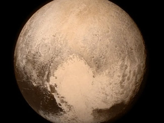 Twitter pic from NASA. NASA New HorizonsVerified account ‏@NASANewHorizons Hello #Pluto! We're at closest approach. Congrats to all! Follow our story & view new images using #PlutoFlyby.