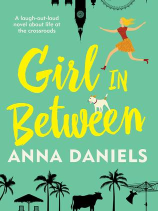 Girl in Between by Anna Daniels.