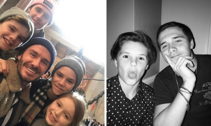 Brooklyn Beckham proves he's the sweetest big brother