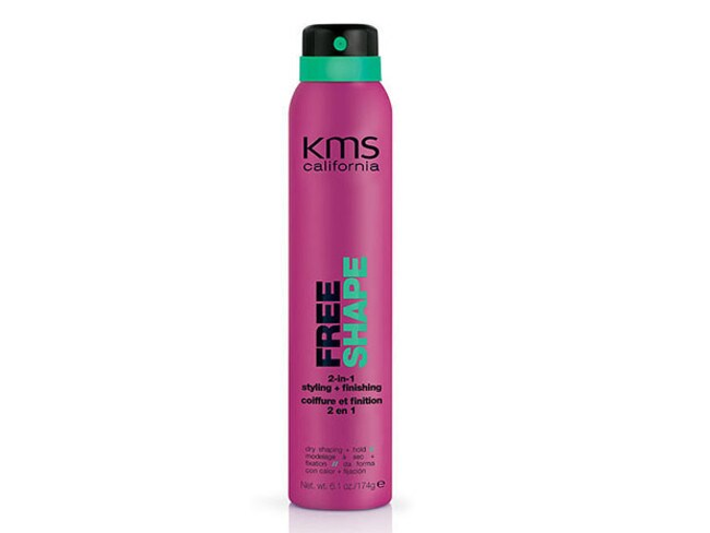 KMS's styling spray.