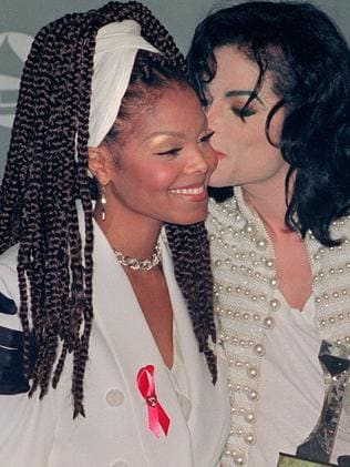 Michael and Janet Jackson embraced other religions after being raised Jehovan's Witnesses. Picture: AFP