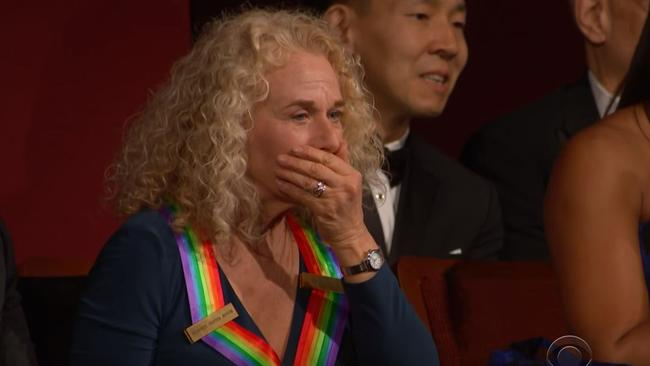 Amazed ... Carole King was blown away by the performance.