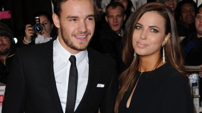 Liam Payne and Sophia Smith in December, 2013.