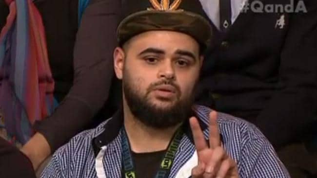 Zaky Mallah, a one-time terror suspect, caused an uproar when he appeared on Q&A.